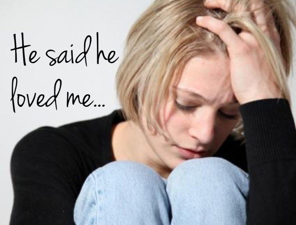 Teen girl_he said he loved me